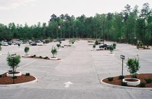 concrete parking